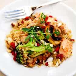 Kryddig kycklingpytt med quinoa