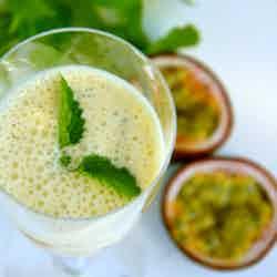 Marockansk smoothie med Grekisk yoghurt