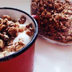 Kokos och vaniljyoghurt